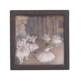 Boîtes À Souvenirs De Première Qualité Répétition de ballet d'Edgar Degas | sur l'étape,