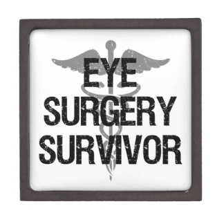 Boîtes À Souvenirs De Première Qualité Survivant de chirurgie d'oeil