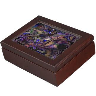 Boîtes-cadeau magiques de l'espace de motif boîte à souvenirs