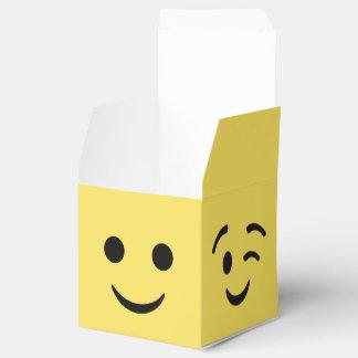 Boîtes de cadeau d'EMOJI Boite Faveurs De Mariage