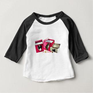 Boîtes de CT T-shirt Pour Bébé