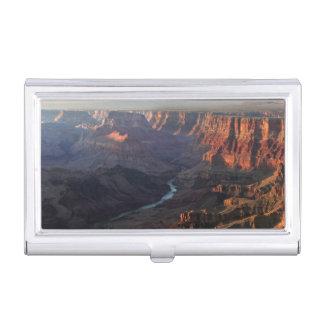 Boîtier Pour Cartes De Visite Canyon grand et fleuve Colorado en Arizona