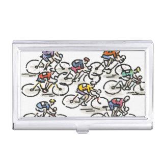 Boîtier Pour Cartes De Visite Course de bicyclette