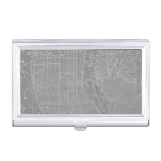 Boîtier Pour Cartes De Visite Croquis de carte de New York City