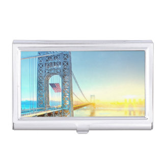 Boîtier Pour Cartes De Visite Fort se reliant Lee NJ et Manhattan NYPlus de GWB