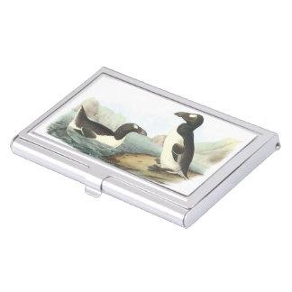 Boîtier Pour Cartes De Visite Grand pingouin par Audubon