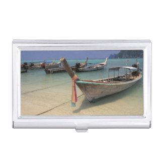 Boîtier Pour Cartes De Visite La Thaïlande, mer d'Andaman, île de phi de phi de