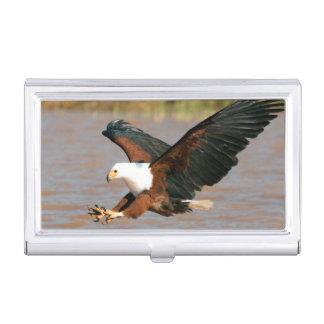 Boîtier Pour Cartes De Visite Les poissons Eagle africains (Haliaeetus Vocifer)