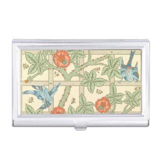 Boîtier Pour Cartes De Visite Motif de treillis de William Morris