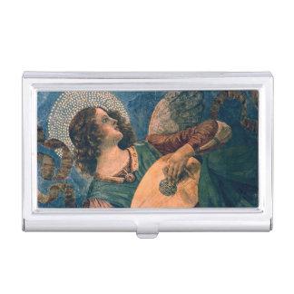 Boîtier Pour Cartes De Visite Musicien d'ange