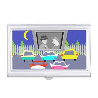 Boîtier Pour Cartes De Visite Porte-cartes drive-in de maison de distribution de