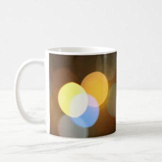 bokeh cup… mug blanc