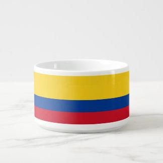 Bol À Chili Drapeau de la Colombie