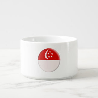 Bol À Chili Drapeau de Singapourien de Singapour Singapura