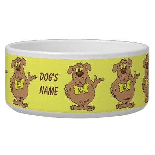 Bol d'aliments pour chiens de professeur écuelles pour chien