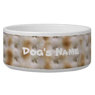 Bol fait sur commande d'aliments pour chiens de écuelles pour chien