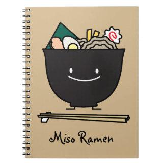 Bol heureux de Ramen Carnet