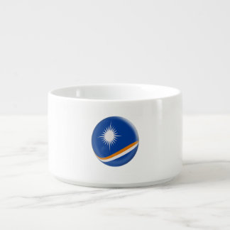 Bol Pour Chili Drapeau des Marshall Islands
