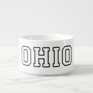 Bol Pour Chili L'Ohio