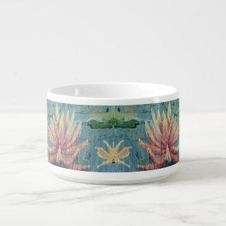 Bol Pour Chili Tasse tropicale faite sur commande de soupe à lis