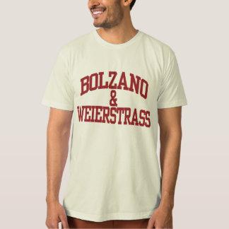 Bolzano et Weierstrass T-shirt