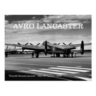 Bombardier d'Avro Lancaster Cartes Postales