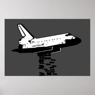 Bombardier de navette posters