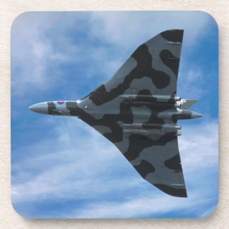Bombardier de Vulcan en vol Dessous-de-verre
