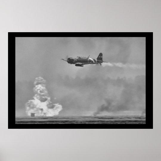 Bombardier japonais de torpille de B5N Kate Poster