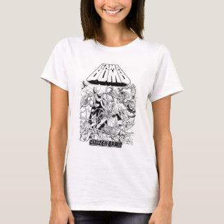 Bombe de GAMA - les filles d'album de cerveau de T-shirt