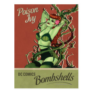 Bombe de lierre de poison carte postale