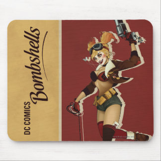 Bombes de Harley Quinn de pin-up Tapis De Souris