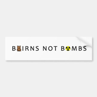 BOMBES D'ENFANTS PAS AUTOCOLLANT DE VOITURE