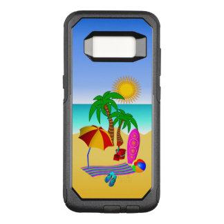 Bon à rien de plage d'amusement ou mer et surf coque samsung galaxy s8 par OtterBox commuter