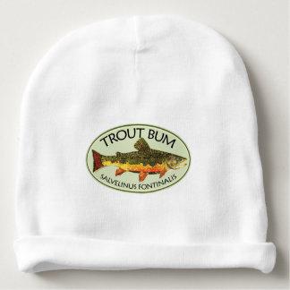BON À RIEN de TRUITE drôle de pêche de mouche Bonnet De Bébé