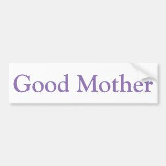 Bon autocollant de mère