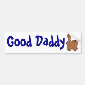 Bon autocollant d'ours de papa