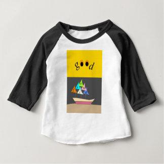 bon bateau d'ami t-shirt pour bébé