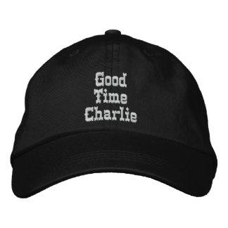 BON casquette de CHARLIE de TEMPS Casquette Brodée