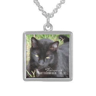 Bon collier tellement beau de mémorial de chat de