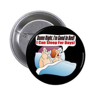 Bon en T-shirts et cadeaux de lit pour elle Badge Rond 5 Cm