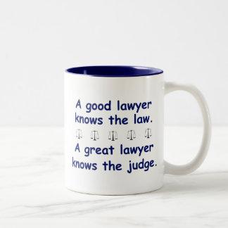 Bon/grand avocat tasse 2 couleurs