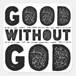 Bon sans Dieu Sticker Carré
