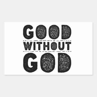 Bon sans Dieu Sticker Rectangulaire