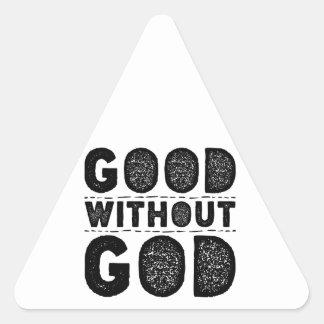 Bon sans Dieu Sticker Triangulaire