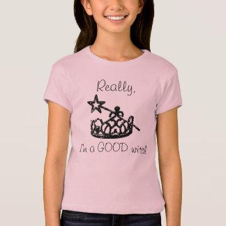 Bon T-shirt de sorcière de filles