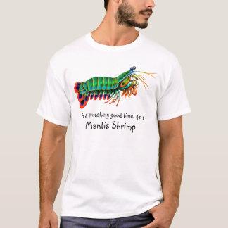 Bon T-shirt sensationnel de crevette de mante de
