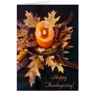 """Bon thanksgiving !"" carte"