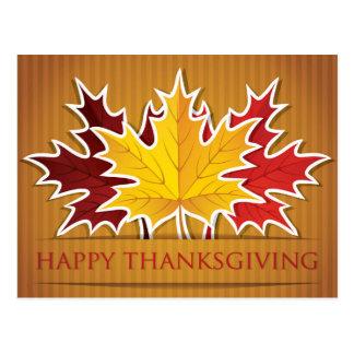 Bon thanksgiving ! carte postale