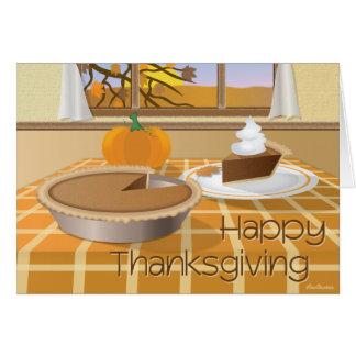 Bon thanksgiving cartes